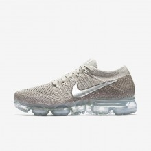Nike Air VaporMax Running Shoes For Women String/Sunset Glow/Taupe Grey/Chrome 849557-202
