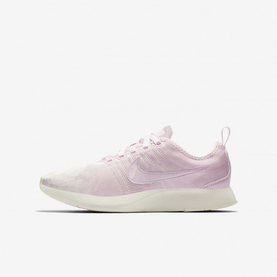 Nike Dualtone Racer SE Lifestyle Shoes Girls Arctic Pink/Sail 943576-600