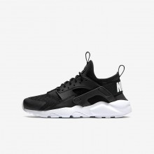 Nike Air Huarache Ultra Lifestyle Shoes Boys Black/White 847569-020
