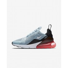 Nike Air Max 270 Lifestyle Shoes For Women Ocean Bliss/Black/Hot Punch/White AH6789-400