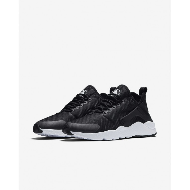1a2b8ee9a92e ... Nike Air Huarache Ultra Lifestyle Shoes Womens Black White 819151-008