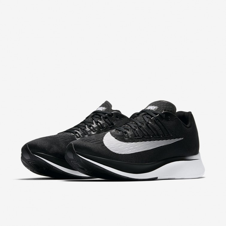 outlet store 29005 77d80 ... Nike Zoom Fly Running Shoes Womens Black Anthracite Wolf Grey White  897821-
