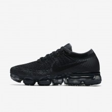 Nike Air VaporMax Flyknit Running Shoes Womens Black/Dark Grey/Anthracite 849557-006