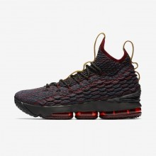 275ff1cf834 Nike LeBron 15 Basketball Shoes Womens Dark Atomic Teal Team Red Muted  Bronze