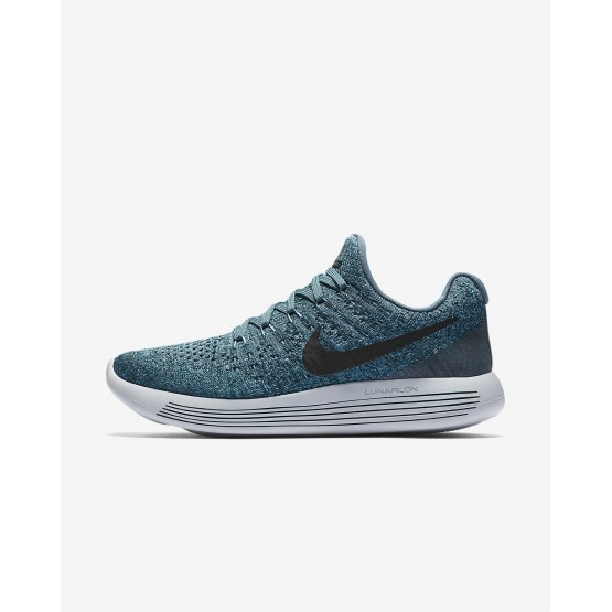 Nike LunarEpic Low Flyknit 2 Running Shoes Womens Iced Jade/Dark Atomic Teal/Blustery/Black 863780-303