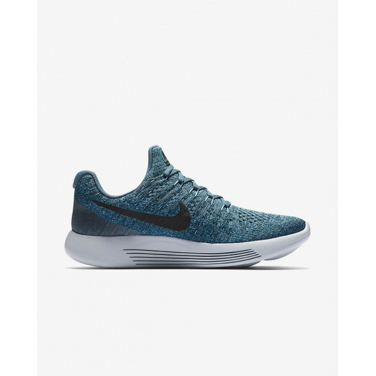 a5ca7812f3ba ... Nike LunarEpic Low Flyknit 2 Running Shoes Womens Iced Jade Dark Atomic  Teal Blustery ...