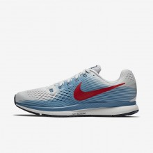 Nike Air Zoom Running Shoes For Men Vast Grey/Aegean Storm/Thunder Blue/University Red 880555-016