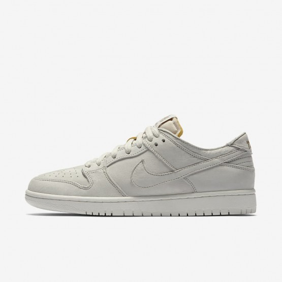 Nike SB Zoom Dunk Low Pro Deconstructed Skateboarding Shoes Mens Light Bone/Summit White/Khaki AA4275-001