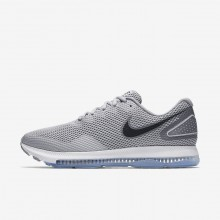 Chaussure Running Nike Zoom All Out Low 2 Homme Grise/Grise/Noir AJ0035-005