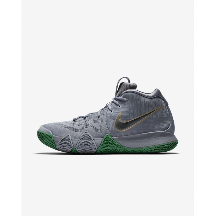 Nike Kyrie 4 The Moment Basketball Shoes Mens Flat Silver Metallic Gold  943806-001 1ed7f4de6