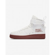Chaussure Casual Nike SF Air Force 1 Mid Homme Blanche 917753-100