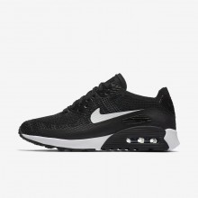 Nike Air Max 90 Lifestyle Shoes For Women Black/Dark Grey/White 881109-004