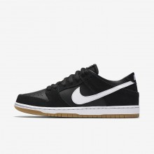 Nike SB Dunk Low Pro Skateboarding Shoes Mens Black/Gum Light Brown/White 854866-019