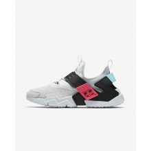 Nike Air Huarache Drift Premium Lifestyle Shoes Mens Pure Platinum/Racer Pink/Bleached Aqua/Black AH7335-003