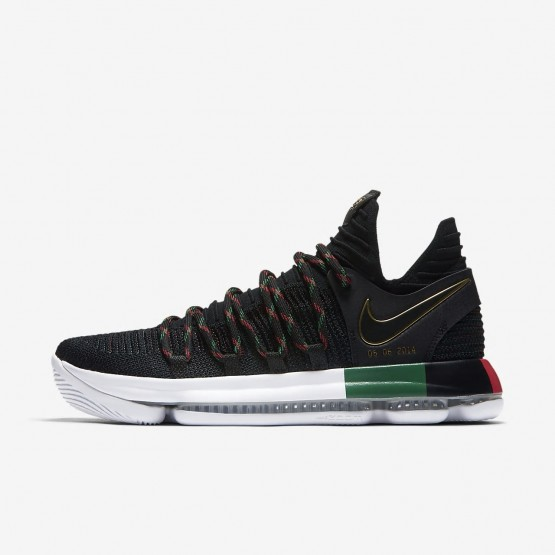 Nike Zoom KDX BHM Basketball Shoes Womens Black/Multi-Color 897817-003